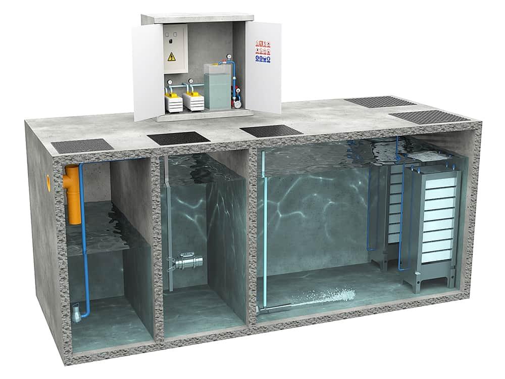 Sistema Membrane Bio Reactor